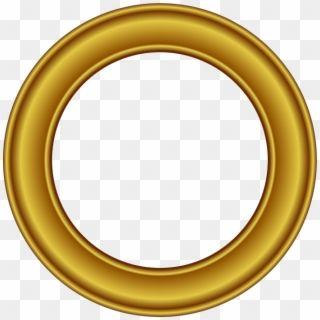 Gold Circle Png Transparent Golden Round Frame Png Png Download Gold Frame Gold Texture Frame