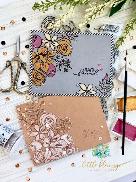 Envelope Art, Envelope Design, Mail Art Envelopes, Paper Art, Paper Crafts, Pen Pal Letters, Karten Diy, Card Kit, Diy Cards