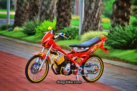 Gambar Motor Drag Bike Jupiter Z Pictures Gambar Motor Drag Bike