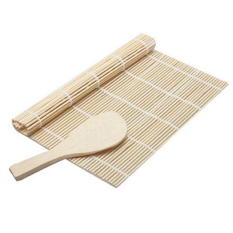 Sushi Maker Kit Rice Roll Mold Kitchen DIY Mould Roller Mat