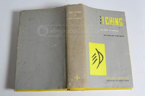 shopgoodwill.com: Vintage I Ching Cleromancy Divination Boook