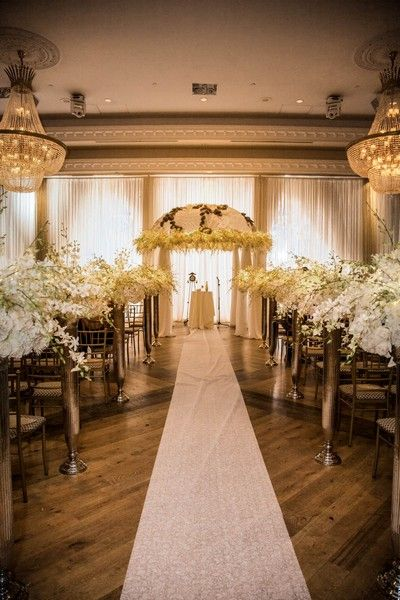 A Wedding Set Up At The Royalton Event Venue In Woodbridge