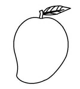 Colouring Sheet Mango Coloring Page In 2020 Coloring Pages