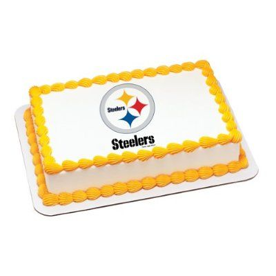 NFL Pittsburgh Steelers ~ Edible Cake Image Topper
