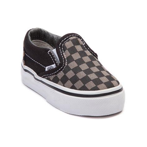 Vans Vans Slip On Chex Skate Shoe Baby Toddler from Journeys