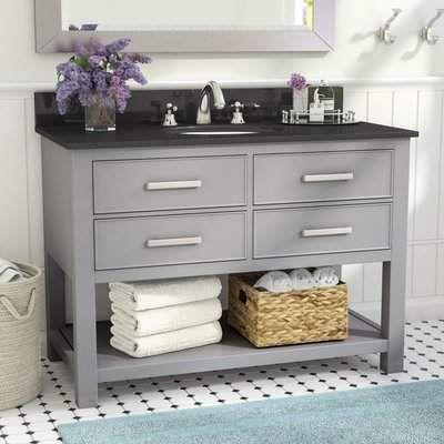 Highland Dunes Dufresne 42 Single Bathroom Vanity Set