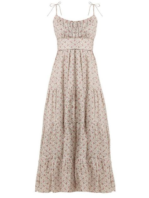 df36f878b5a Zimmermann Heathers tiered floral-print linen dress