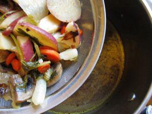 Very Flavorful Vegetable Stock in 1 Hour | Mark Bittman