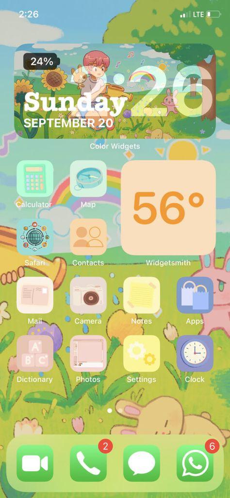 """Aesthetic""app icons"