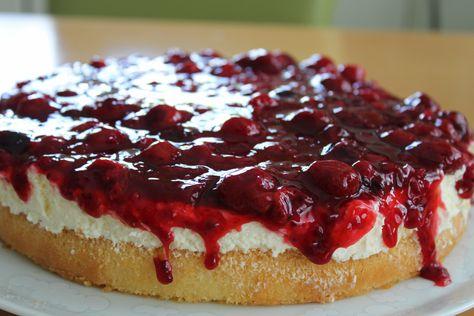 Rote Grutze Torte Rezept Rote Grutze Torte