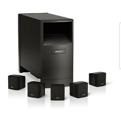 Ad Ebay Link Bose 5 1 Acoustimass 6 Speakers Subwoofer And Teac Amp Audio Room Surround Sound Tv Sound System