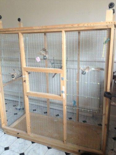 Wooden Bird Aviary Aviaries Aviário De Pássaros Viveiros Para Passaros Aves De Estimação