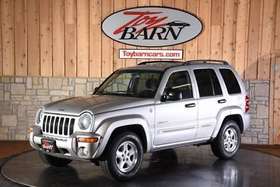 Ebay Liberty Limited 2004 Jeep Liberty Limited Bright Silver