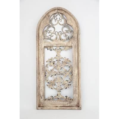 Architectural Window Wall Decor