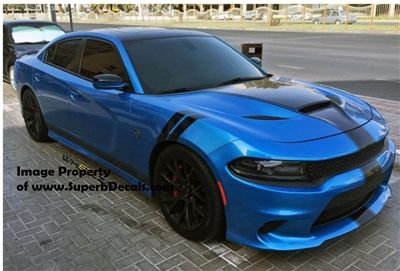 2006 Up Dodge Charger Grand Sport T A Fender Stripes Set 2 Pair Dodge Charger Dodge Charger Hellcat Sports Cars Luxury