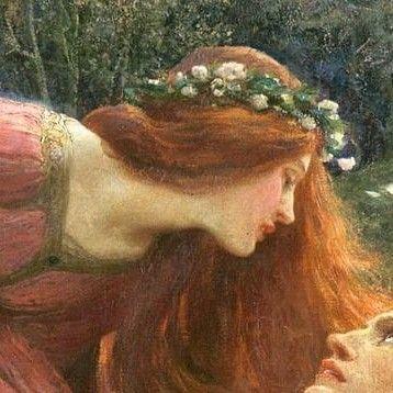 Redheads In Art Romantic Art Aesthetic Painting Art