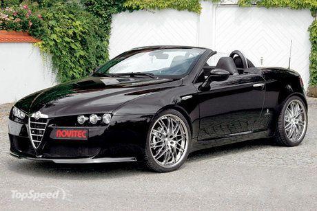 alfa romeo   Alfa Romeo Black Spider Wallpaper