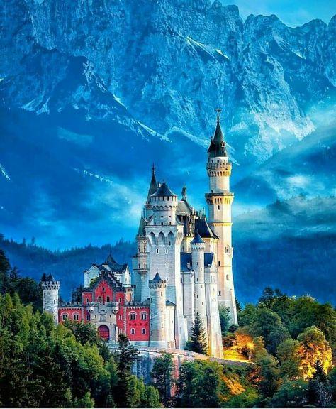 Germany travel beautiful castle