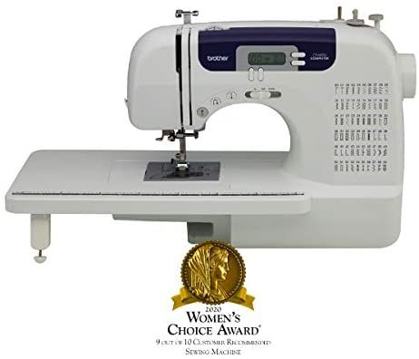 Amazon Com Brother Computerized Sewing And Quilting Machine Cs6000i 60 Built In Stitches 7 Styles O Sewing Machine Machine Quilting Best Embroidery Machine