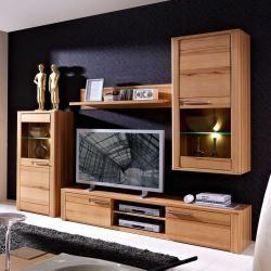 Holz Wohnwande In 2020 Wohnzimmerschranke Gemutliches Wohnen Und Wohnen