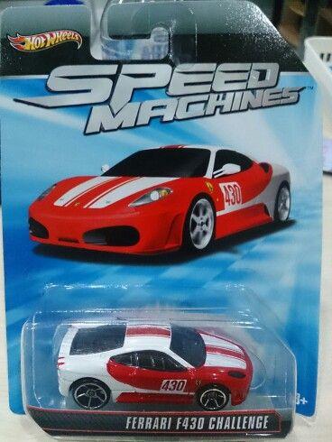 Hw Speed Machines Ferrari 430 Challenge Custom Hot Wheels Hot