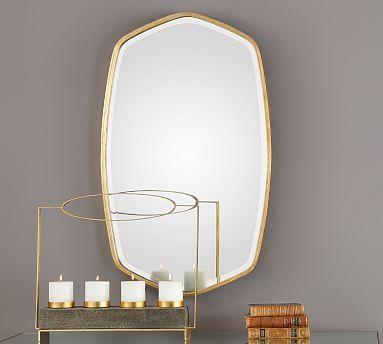 Oceano Gold Frame Wall Mirror 22 X 36 Antique Gold Mirror Framed Mirror Wall Gold Leaf Mirror 22 x 36 mirror