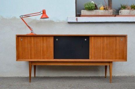 Enfilade Brigitte L Atelier Belle Lurette Renovation De Meubles Vintage Mobilier De Salon Enfilade Meuble Vintage
