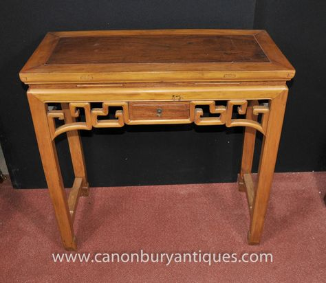 Photo Of Antique Chinese Hall Console Table Faux Bamboo Circa 1890 | Console  Table | Pinterest | Hall Console Table, Faux Bamboo And Console Tables