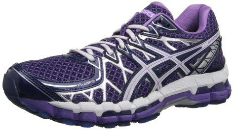 Asics Women S Gel Kayano 20 Running Shoe Purple White Lavender