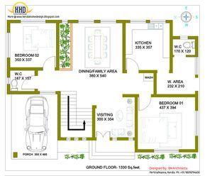 100 Square Meters House Plan Unique House Plans 2 Storey House Design Home Design Floor Plans