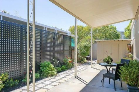 Enclosing Carport With White Lattice Google Search Carport Patio Carport Makeover Patio