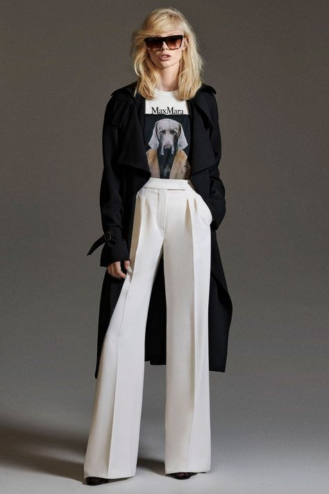 When MrStern allows Pattie to wear pants - Max Mara Pre-Fall 2020 Collection - Vogue 2020 Fashion Trends, Fashion Mode, Vogue Fashion, Fashion 2020, Runway Fashion, Fashion Outfits, Milan Fashion, Stylish Outfits, Max Mara