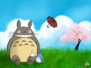 となりのトトロ 無料pcデスクトップ壁紙 画像集 ジブリ 高画質 Totoro Art Totoro Ghibli Art