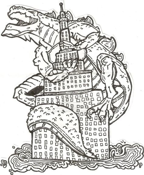 printable Godzilla coloring pages for kids | Great Coloring Pages ...