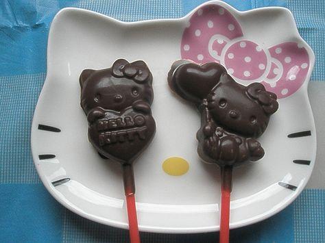 Chocolate Lollipops!