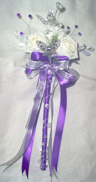Fleur Fille Lilas Baguette Mariage