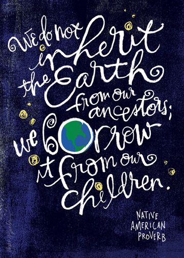 Our Earth. Earth Day 2013