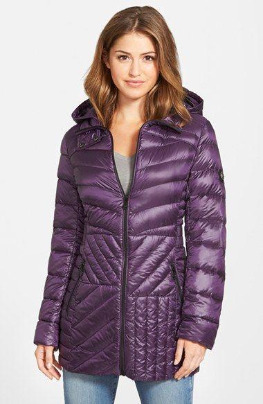 04fa4c1d71a Bernardo Packable Hooded Down & PrimaLoft® Fill Parka (Regular & Petite)  available at #Nordstrom | (Bernardo Fall 2015) in 2019 | Coat, Puffy jacket,  ...