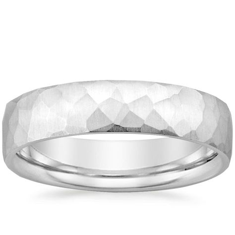 18K White Gold Everest Wedding Ring