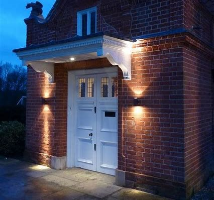 Image Result For Lighting Outside House Ideas Creativity