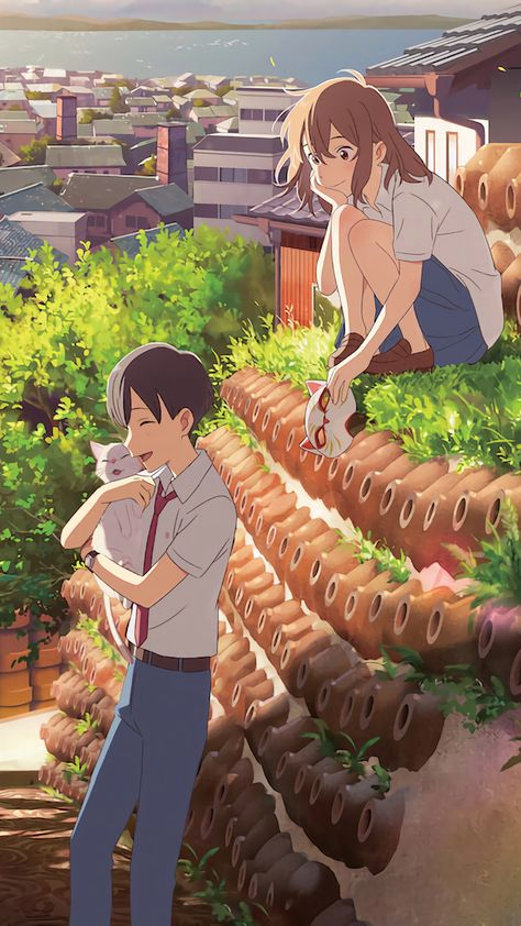 A Whisker Away - Kento Hinode, Miyo Sasaki wallpaper