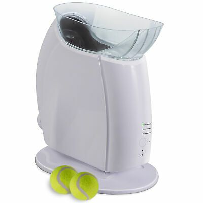 Details About Automatic Pet Dog Ball Launcher Interactive Fetch Thrower Toy With Tennis Ball In 2020 Dog Ball Dog Ball Launcher Ball Launcher