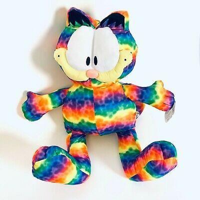Garfield 27 Large Plush Doll Toy Factory Garfield Stuffed Multi Color Rainbow In 2020 Cat Plush Plush Dolls Plush Stuffed Animals