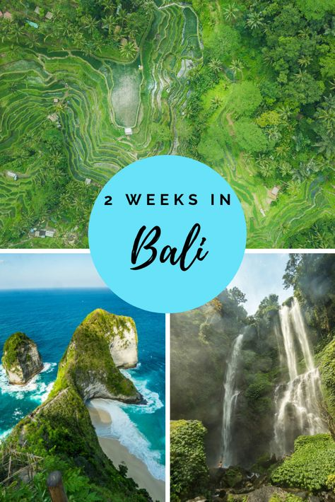 Bali is one of the most visited islands in South East Asia. It's one of the many bucket list destinations for anyone whether you're on your honeymoon or travelling with kids or just on a vacation. This beautiful island has beaches, temples, waterfalls and amazing hotels. There are some amazing things to do on this paradise island, read our 2 week Bali itinerary here! #bali #itinerary #baliitinerary