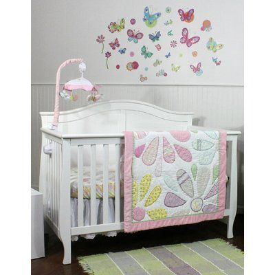 Zoomie Kids Mandy 3 Piece Crib Bedding Set Nursery Bedding Crib Bedding Sets Crib Bedding