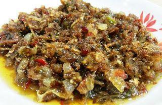 Resepi Sambal Kering Ikan Bilis Cilipadi Sambal Hot Meals Malay Food