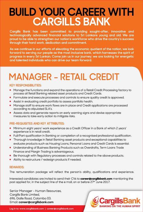Senior Marketing Manager At Sampath Bank  Career First