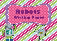 Kids will love to write about robots!!