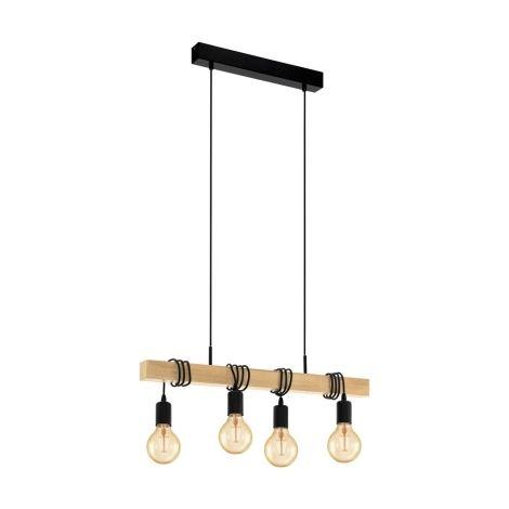 Eglo 32916 Luster Na Lanku Townshend 4xe27 60w 230v Eglo Ceiling Pendant Lights Ceiling Lights
