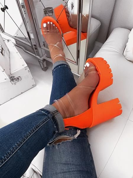 Aurora Heel - Neon Orange